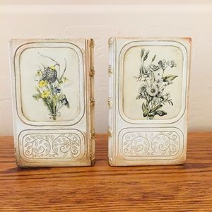 Vintage Borghese Bookends